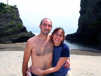 kat_and_darin_ohama_beach_cave